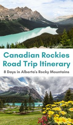 Canadian Rockies Road Trip Itinerary- 8 Days in Alberta's Rocky Mountains (Blog post, travelyesplease.com) | #Canada #Alberta #mountains #nature #roadtrip