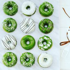 Donut  you love matcha  #yummy (Cr.  @matchateahouse) #matcha #matchacake #matchagreentea #matchaholic #ultimatematcha #donut #tastytreat