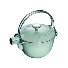 staub la theiere round tea pot