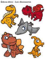 Éduca-déco - Les dinosaures