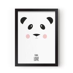 molly meg panda love print