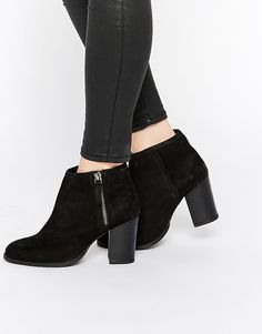 Image 1 of ASOS EVERYBODYS FOOL Leather Ankle Boots