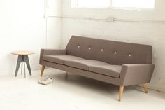 Finsbury sofa by Assemblyroom #fifties #couch