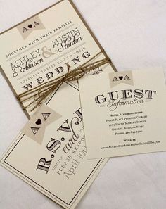 Vintage Wedding Invitation Suite Sample // Rustic And Vintage // Twine And  Burlap // Purchase This Listing To Get A Sample Set