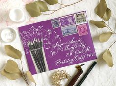 How to Space Calligraphy on Envelopes – The Postman's Knock