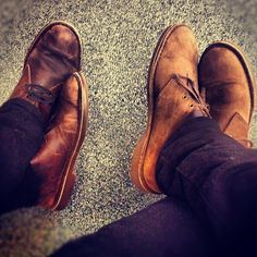 Clarks desert boots beeswax leather-I WANT THIS!!
