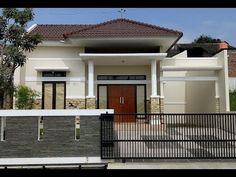Building A Fence, Building A House, Minimal Bedroom Design, Single Floor House Design, Modern Minimalist House, Boundary Walls, Fence Design, Simple House, Home Fashion