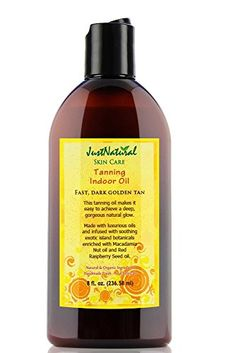 Tanning Indoor Oil | Best Tanning Bed Oil | Get Your Tan Darker and Faster | Pure Nutritive Oils Moisturize Your Skin Better >>> Quickly view this special product, click the image : All Natural Skin Care