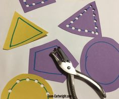 Cutting Activities for Preschoolers – Team Cartwright Practice cutting skill safely by using a hole punch! Work a lot of the same skills with less worry. Cutting Activities For Kids, Toddler Learning Activities, Kindergarten Activities, Preschool Activities, Kids Learning, Preschool Cutting Practice, Physical Activities, Physical Education, Dementia Activities