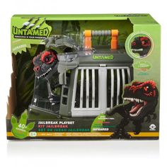 """Fingerlings untamed - jailbreak playset with exclusive t-rex """"infrared"""" by WowWee Deal Sites, I Am Game, T Rex, Nerdy, Action Figures, Nostalgia, Activities, Antiques, Toys"""