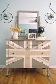 ASCP: French Linen with Old White/Country Gray for design
