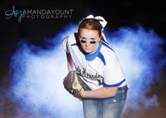 Amanda Yount Photography, Kansas City Senior Photographer, Softball Senior Pictures, Senior Girl Pose, Softball Pose, Fog, Kansas City, Missouri Senior http://www.amandayountphotography.com http://www.facebook.com/amandayountseniors