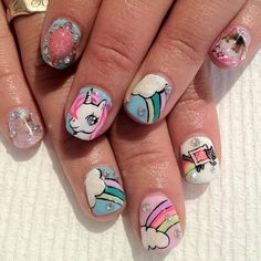 vanityprojectsnyc: @Britney TOKYO @Ayako Okano Hirano #colab #gel #nailart... - http://goo.gl/ZtGrNj