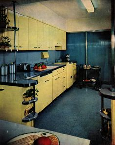 Beautiful Mid Century Modern kitchen. | Flickr - Photo Sharing!