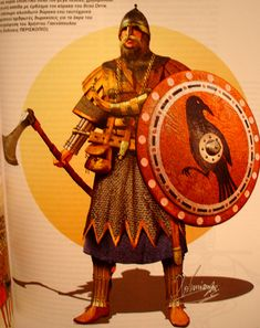 Varangians was the name given to Vikings, who between the 9th & 11th centuries ruled the medieval state of Rus', and formed the Byzantine Varangian Guard. According to the 12th century Kievan Primary Chronicle, a group of Varangians known as the Rus' settled in Novgorod in 862, under the leadership of Rurik. Rus would later be called Kievan Rus, and includes parts of modern day Ukraine, Belarus, and Russia (derived from the word Rus). They were assimilated with East Slavs by the 11th…