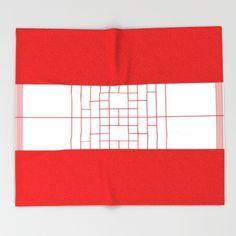 Redden White Throw Blanket