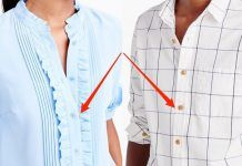 TIL why men's and women's shirts button up on different sides Men And Women, Women Wear, Jacket Buttons, Fashion Company, Button Up, Chloe, Down Shirt, Casual Outfits, Clothes For Women