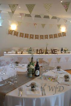 Kingston Estate Devon wedding, chair cover and sash hire