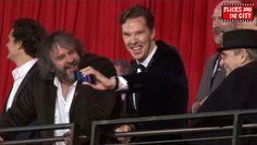 The Hobbit: The Desolation of Smaug European Premiere Interviews - Martin Freeman, Aidan Turner