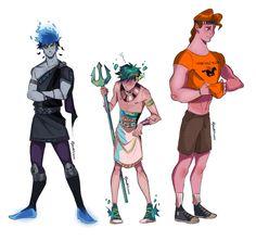 Percy Jackson Fan Art, Percy Jackson Memes, Percy Jackson Fandom, Character Art, Character Design, Greek Mythology Art, Tio Rick, Hades And Persephone, Lore Olympus