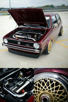 Volkswagen Golf Rabbit Mk1 GTi with central lock wheels
