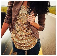 Gold sequence top