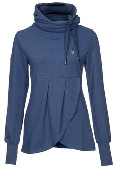 Interesting take on the sweatshirt, which you all know I live in come winter!