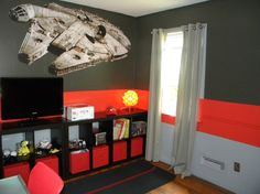 Star Wars Room Painting Ideas | Star Wars, To enhance the Star Wars theme I like to bring in ...