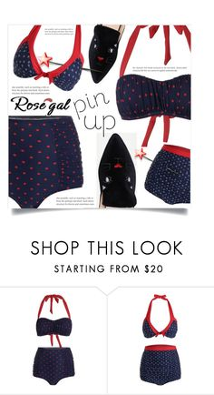"""""""Rosegal -contest-"""" by dolly-valkyrie ❤ liked on Polyvore"""