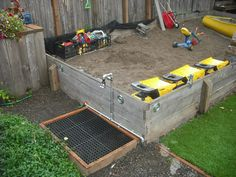 53 Best Anything for Sandboxes images | Outdoor play ...