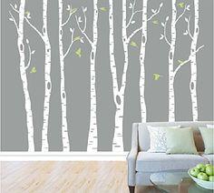 Set of 8 Birch Tree Wall Decal for Nursery Big White Tree... http://smile.amazon.com/dp/B0146JSR00/ref=cm_sw_r_pi_dp_9HRlxb0DTPZB7