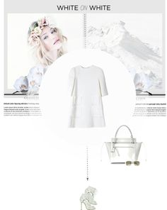 """White on white"" by forzieri ❤ liked on Polyvore"