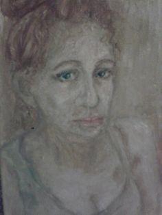 2014 oil painting self-portrait