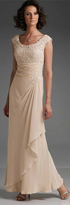 evening dress evening dresses - a wonderful Mother-of-the-Bride dress! evening dress evening dresses - a wonderful Mother-of-the-Bride dress! Summer Mother Of The Bride Dresses, Mother Of Groom Dresses, Bride Groom Dress, Bride Gowns, Mothers Dresses, Older Bride Dresses, Long Mothers Dress, Mob Dresses, Bridesmaid Dresses