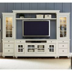 Liberty Furniture Harbor View Entertainment Center with Piers - 631-ENTW-ECP