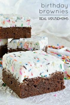 Birthday Brownies | Real Housemoms