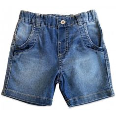 Bermuda Jeans para Bebê Menino
