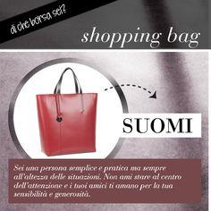 Di che borsa sei? Se la tua borsa preferita è la shopping bag, sei una persona amata per la tua sensibilità e generosità.