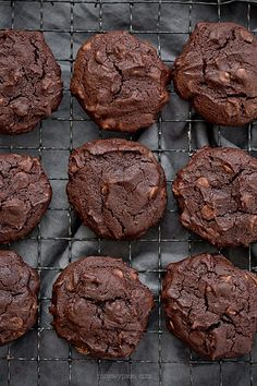 Buckwheat, Gluten Free Baking, Chocolate Cookies, Baked Goods, Sweet Tooth, Sweet Treats, Muffin, Sweets, Snacks