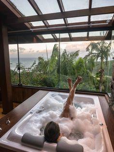 Home Room Design, Dream Home Design, My Dream Home, Home Interior Design, Interior Garden, Dream Bathrooms, Amazing Bathrooms, Home Spa Room, Luxury Homes Dream Houses
