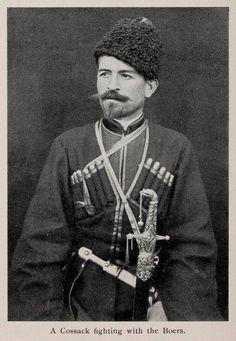Cossack volunteer on the side of the Boers European History, Modern History, Loose Lips Sink Ships, Folk, Innocent Child, Men In Uniform, Modern Warfare, My Land, African History