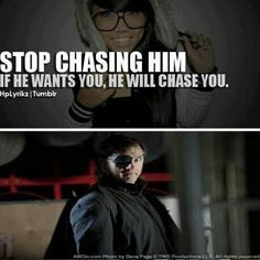 He can chase me ANY day!!!! Not that I would even run from this friggen' hottie!!!!! ;-) <3