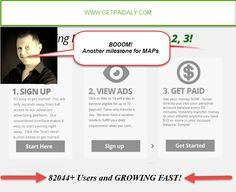 MyAdvertisingPays Keeps Growing Stronger :) Money Now, Advertising, Ads, Google Drive, You Got This, How To Get, Its Ok