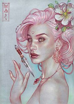 Art by Marta Adan via Drawing Pencil on FB