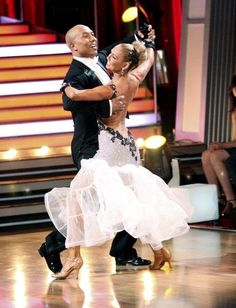 Still of Kym Johnson and Hines Ward in Dancing with the Stars