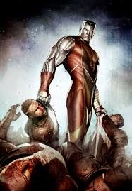 Colossus also known as Piotr Nikolaievitch Rasputin is a fictional character, a superhero in the Marvel Comics universe. He appeared in the X-Men series as one Comic Book Artists, Comic Book Characters, Comic Book Heroes, Marvel Characters, Comic Character, Comic Books Art, Epic Characters, Comic Artist, Marvel Dc