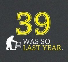 40 Year Old Birthday Shirt Guys Over The Hill By FunhouseTshirts