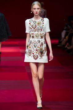 Dolce & Gabbana, Весна-лето 2015, Ready-To-Wear, Милан