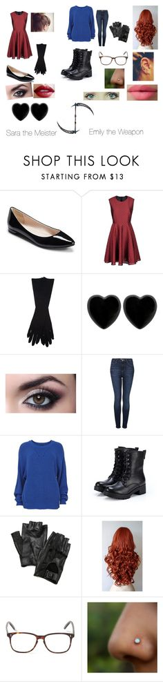 """""""My soul eater Oc's"""" by whatthefricklefrackle ❤ liked on Polyvore featuring Giambattista Valli, Maison Margiela, Dollydagger, Topshop, Vila Milano, Exull, Carolina Amato, Marvel, Cutler and Gross and LORAC"""