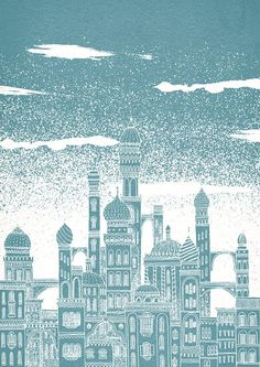 Celestial Cities by David Fleck.